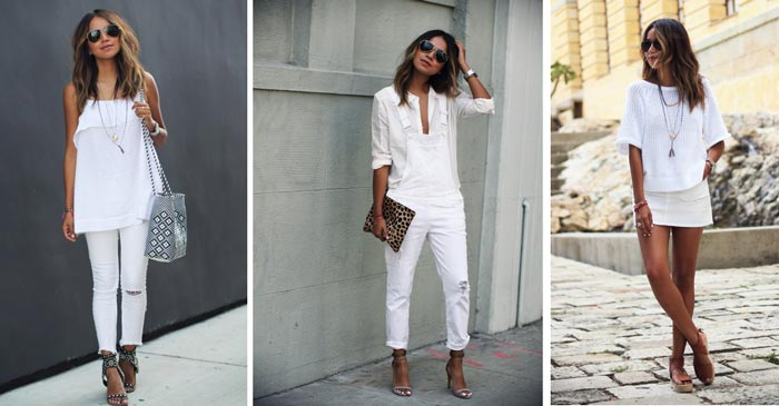 Look Total white / Total branco